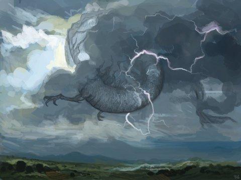 Storm Dragon - Cinvira